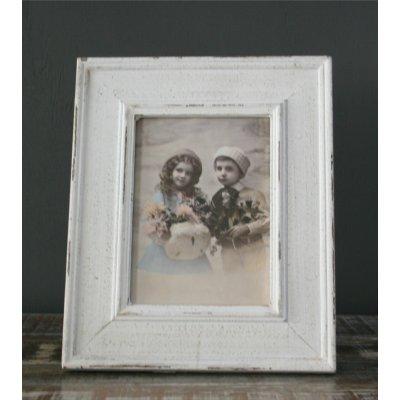 Porta foto in legno effetto invecchiato