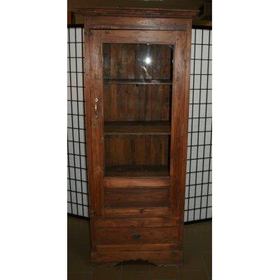 vetrina indonesiana in tek vecchio
