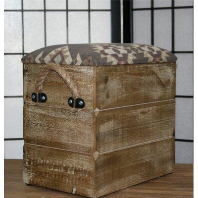 Poof legno