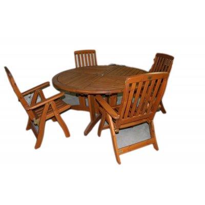 set tavolo pino di Svezia