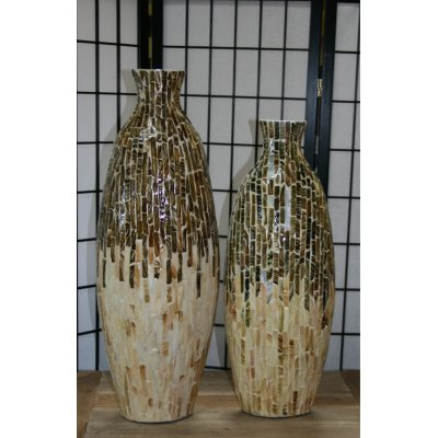 vaso Atlas bambù bicolore