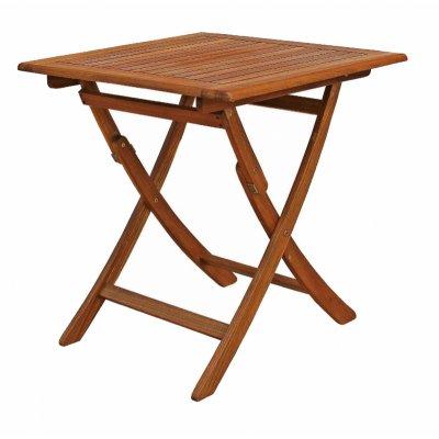 tavolo abbattibile da 70 x 70 aperto