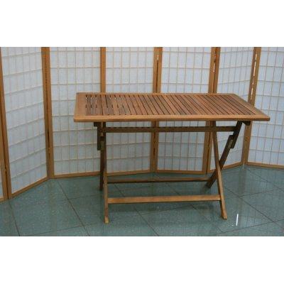 tavolo abbattibile da 70 x 120 aperto