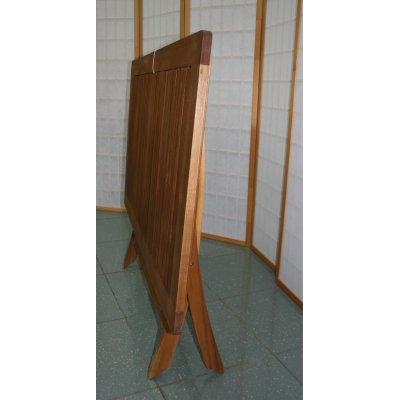 particolare tavolo abbattibile da 70 x 120 chiuso
