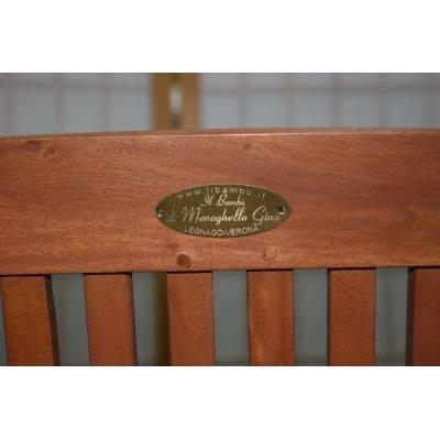 particolare sedia pieghevole
