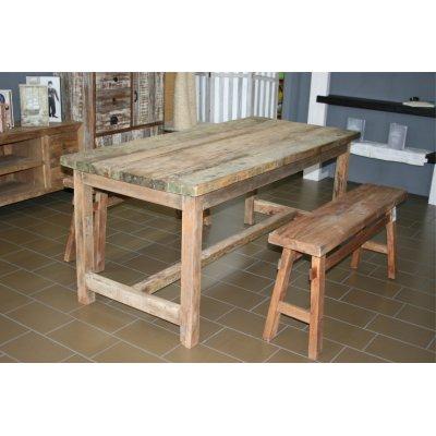 tavolo Old Wood e panca telgede