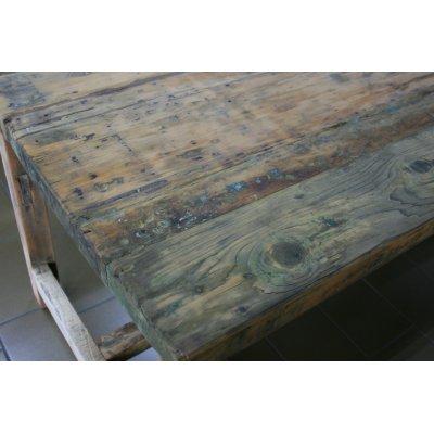 particolare tavolo Old Wood