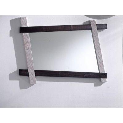 specchio Cross bianco e nero
