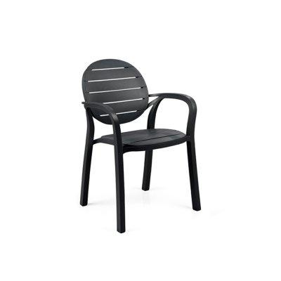 sedia Palma  colore antracite