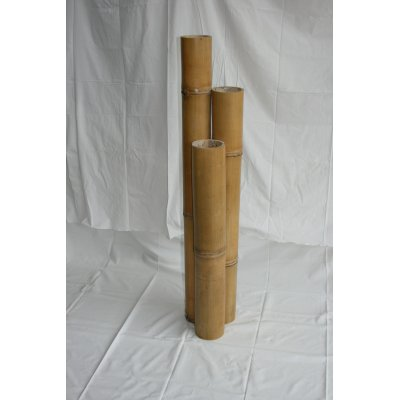 porta candele bambù naturale