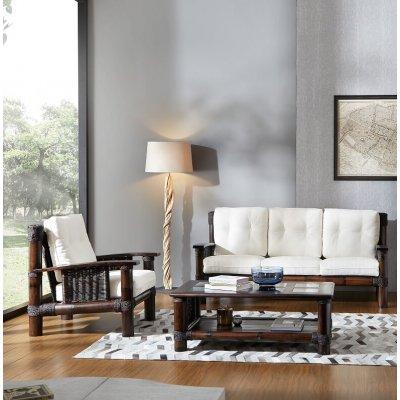 poltrona e divano Tropicana tessuto import