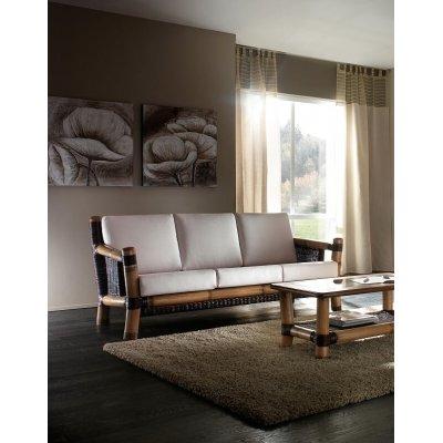 divano Surya tinta miele antico e tessuto cat A