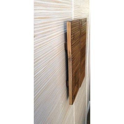 maniglie in crash bambù per armadi Alum tinta miele antico