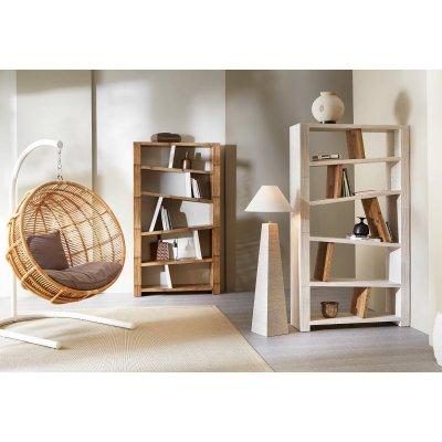 Cesta pensile Arroway, librerie Miring, lampada Essential Alta