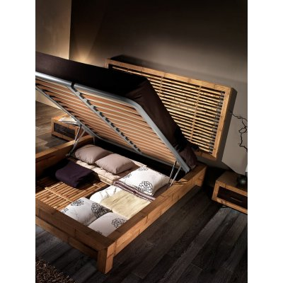 fondo per letto in bambù su giroletto Essential contenitore