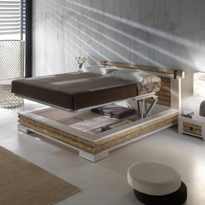 fondo per letto contenitore Isayto in bambù