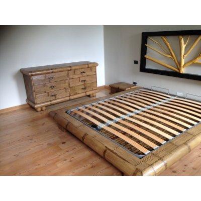 fondo per letto contenitore Verunga in bambù