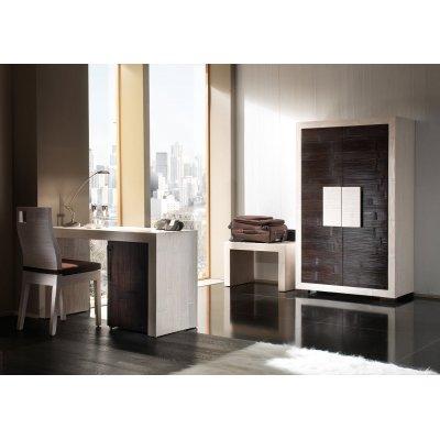 porta valige e sedia serie Hotel, porta abiti Diamante, scrivania Dubai