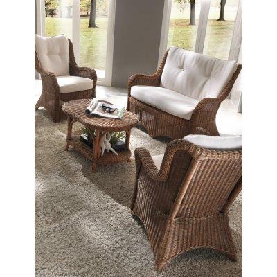 poltrona, divano Vinci e tavolino Grand II