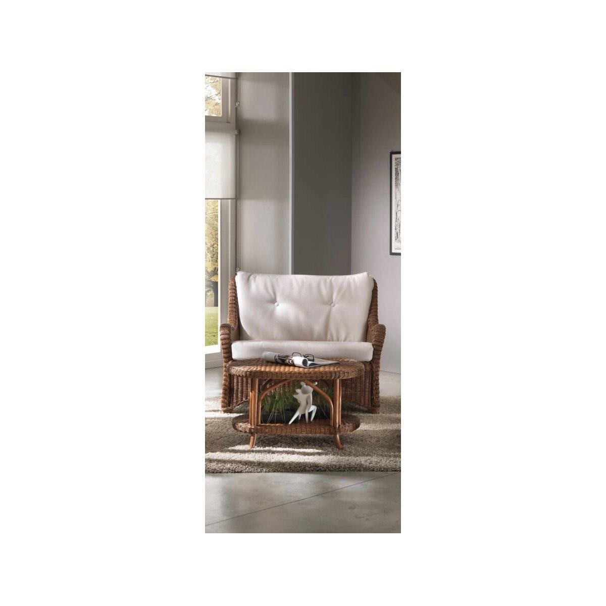 tavolino Grand II e divano 2 posti Vinci