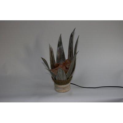 lampada di sale Braciere Ninfea