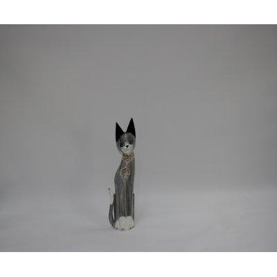 Gatto Mosaico con Sassolini misura piccola