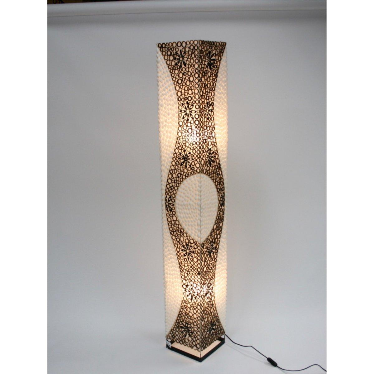 lampada Conchiglie e Bambù