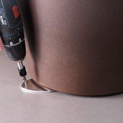 staffa di fissaggio per vasi, anche quelli con luce