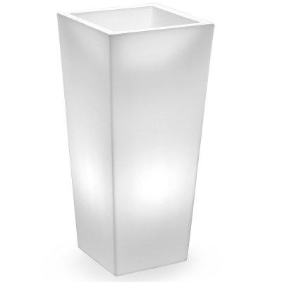 cache-pot Genesis quadrato con luce