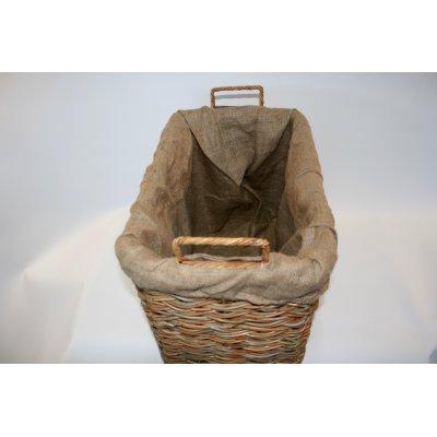 cesto porta legna Cesleg - particolare struttura in ferro