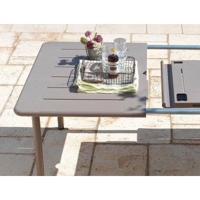 tavolo Maestrale 220 tortora - particolare