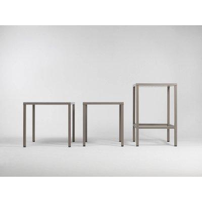 tavolo Cube 70 e tavolo Cube 70 con kit cube 70 Hight