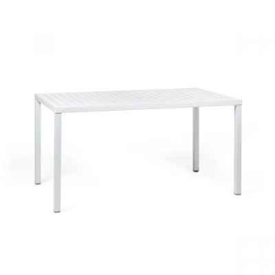 tavolo Cube 140x80 bianco