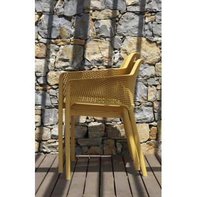 sedia Net impilabile