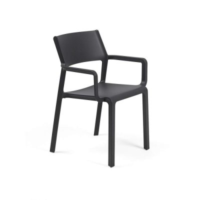 poltroncina Trill Armchair antracite