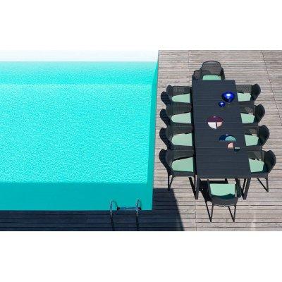 poltrone Net Relax con tavolo Rio