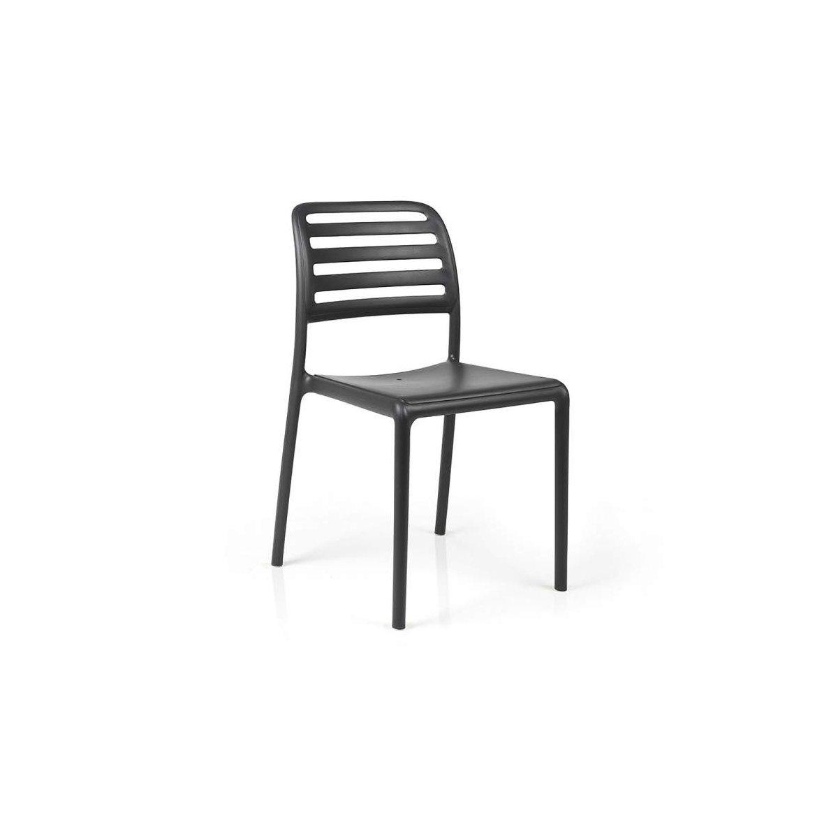 sedia Costa Bistrot colore antracite