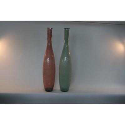 bottiglie modello Seta VT colore verde mare e rosa cipria