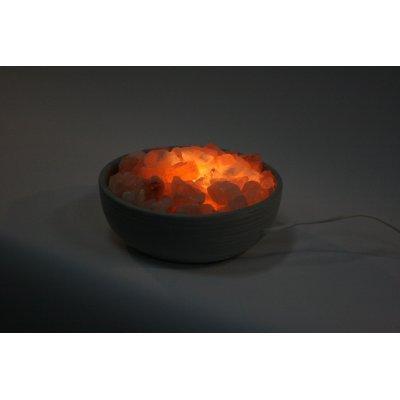 lampada di sale Braciere in Ceramica