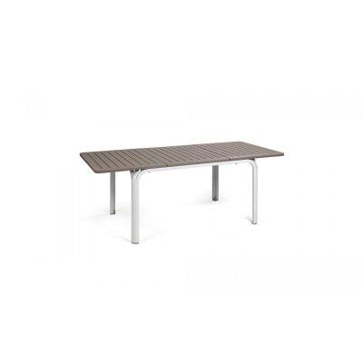 tavolo Alloro colore bianco tortora