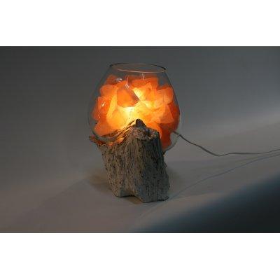 lampada di sale Unica radice bianca codice SAL078