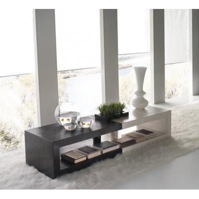 tavolini Rubik colore nero e bianco