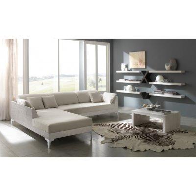 divano angolo Sky sinistro con tavolino Essential