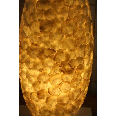 lampada Goccia da tavolo in madreperla