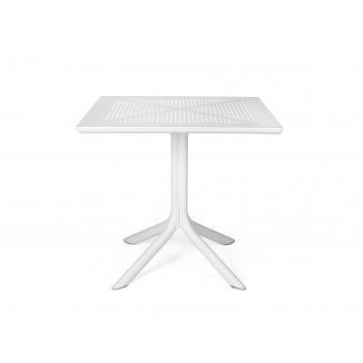 Tavolino Clip 80 colore bianco