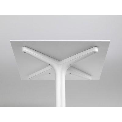 Particolare tavolino Clip 80 colore bianco