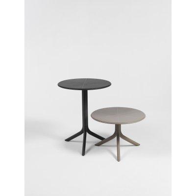 tavolini Spritz colori antracite e tortora