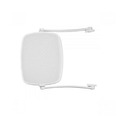 Parasole bianco con tessuto bianco - combinazione n. 1 (S)