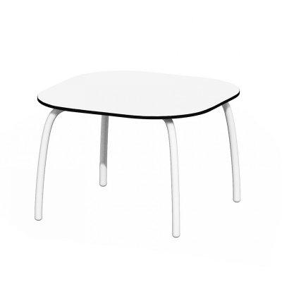 tavolino d'appoggio Loto Relax 60 (S) colore bianco