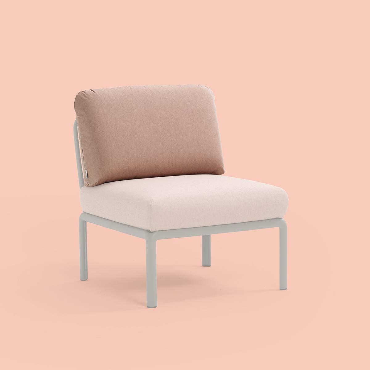cuscino per schienale Komodo in tessuto acrilico rosa n. 066